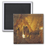 Drapery Room, Mammoth Cave National Park, 2 Inch Square Magnet