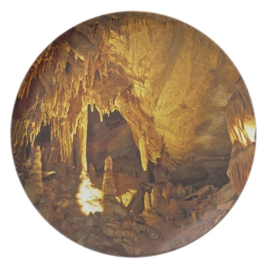 Drapery Room, Mammoth Cave National Park, Plate