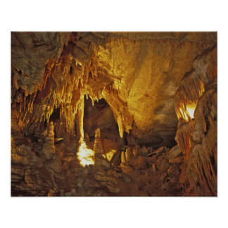 Drapery Room, Mammoth Cave National Park, Poster