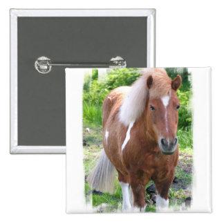Draught Horse Square Pin