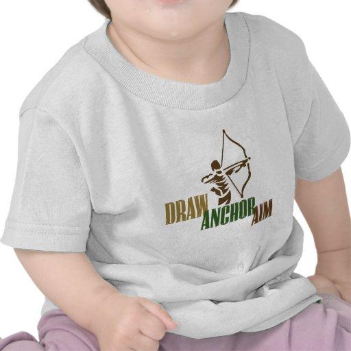 Draw. Anchor. Aim. Tee Shirts