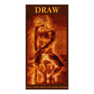 """DRAW"" Custom Fine Art Photocard Card"