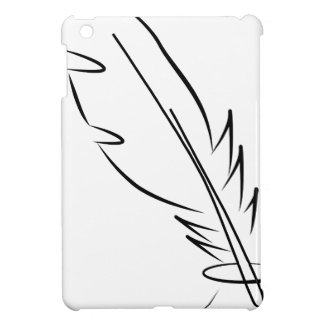 draw feather ink cover for the iPad mini