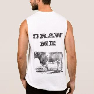 Draw me sleeveless t-shirt