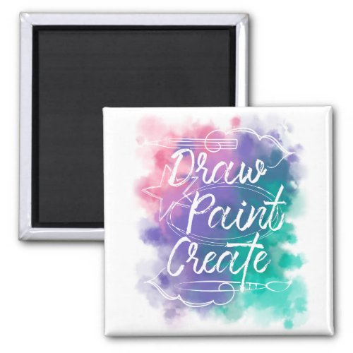 Draw Paint Create Magnet