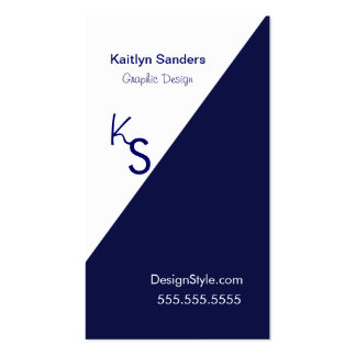 Draw the line Double-Sided standard business cards (Pack of 100)