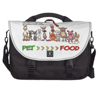 DRAW THE LINE CARNISM COMMUTER BAG