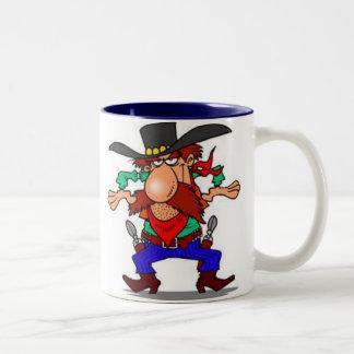 Draw Two-Tone Coffee Mug