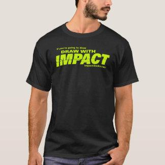 Draw with Impact mens tshirt-dark T-Shirt