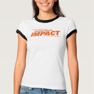 Draw with Impact womens tshirt-light T-Shirt
