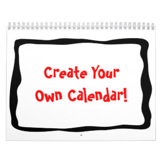 Draw Your Own Calendar