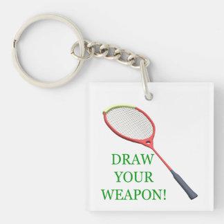 Draw Your Weapon Keychain