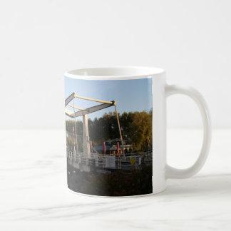 Drawbridge Classic White Coffee Mug