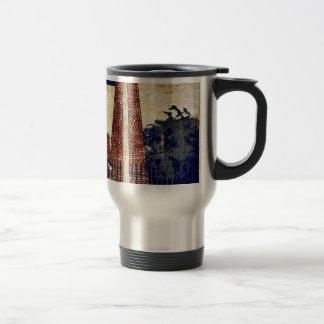 Drawbridge of the palace by Kobayashi,Kiyochika 15 Oz Stainless Steel Travel Mug