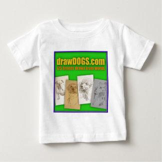 DrawDOGS.com 125 breeds drawn from words Tee Shirt