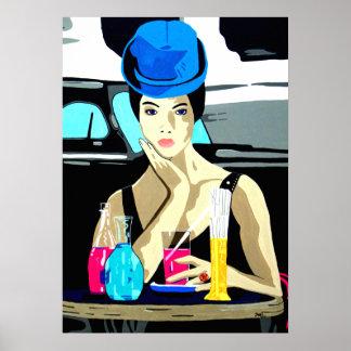 Drawer Parisian Poster