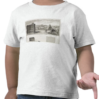 Drawing aids: a basic wooden camera obscura and a shirt
