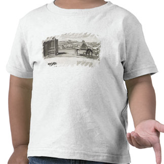 Drawing aids: a basic wooden camera obscura and a shirts