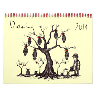 Drawing art 2014 calendar