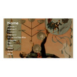 Drawing Cards, 'Eldora', Juggler of the World Double-Sided Standard Business Cards (Pack Of 100)