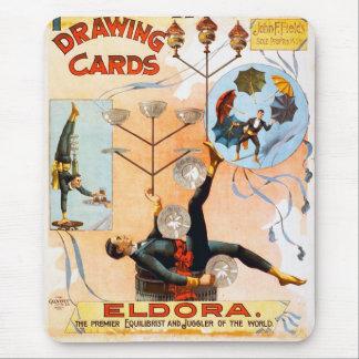 Drawing Cards, Eldora Mouse Pad