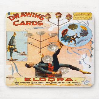 Drawing Cards, Eldora Mousepads