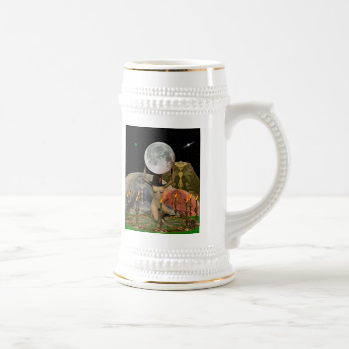 Drawing Down the Moon Beer Stein