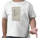Drawing for the map of the moon, 1794 (pencil on p shirt