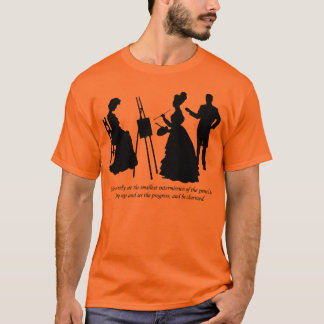 Drawing Harriet - Emma - Jane Austen T-Shirt