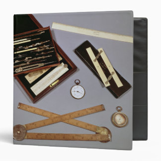 Drawing instruments used by Isambard 3 Ring Binder