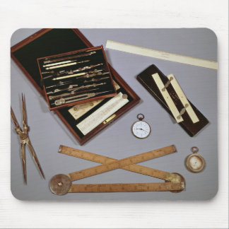 Drawing instruments used by Isambard Mouse Pad
