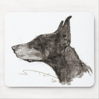 Drawing magnetic cup mouse pad