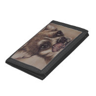 Drawing od Chihuahua Licking its Lips on Wallet