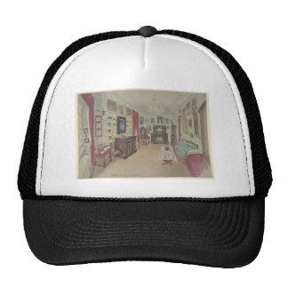 Drawing of an Interior- Cabinet du Salon Trucker Hat