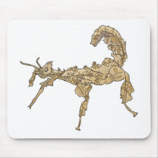 Drawing of Australian Stick Insect Mouse Pad