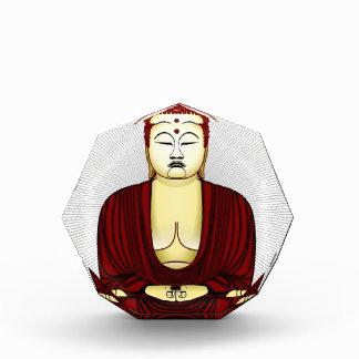 Drawing of Buddha Acrylic Award