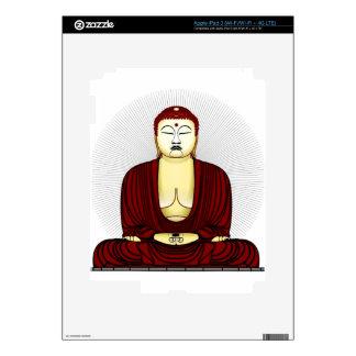 Drawing of Buddha iPad 3 Skin