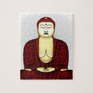Drawing of Buddha Jigsaw Puzzle