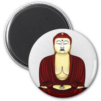 Drawing of Buddha Magnet