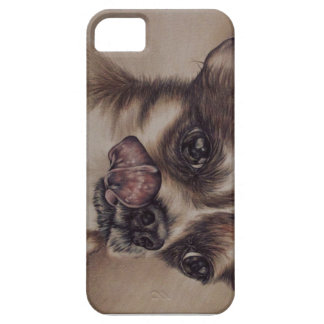 Drawing of Chihuahua on iPhone 5 Case
