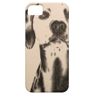 Drawing of Dalmatian on iPhone 5 Case