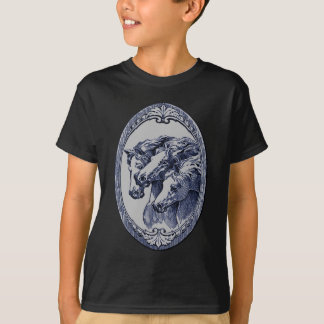 Drawing of Mother and Baby Horse T-Shirt