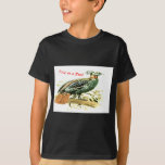 Drawing of pheasant free as a bird T-Shirt