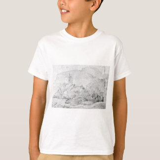 Drawing of the castles of Alsacien Ortenberg T-Shirt
