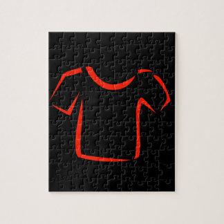 drawing of tshirt jigsaw puzzle