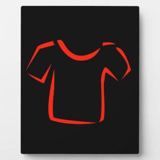 drawing of tshirt plaque