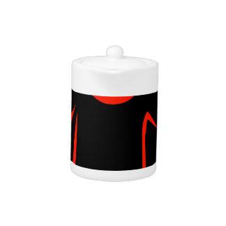 drawing of tshirt teapot