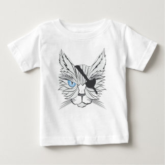 Drawing Pirate Cat Baby T-Shirt