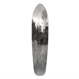 Drawing pond small Island Skateboard