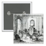 Drawing Room in the Louis Seize Style 2 Inch Square Button